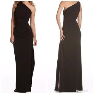 Laundry by Shelli Segal Sequin Beaded Maxi Dress